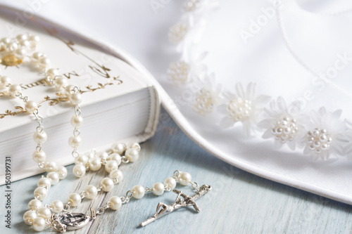 Preparation for the first holly communion concept