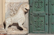 Salerno cathedral  bronze gate