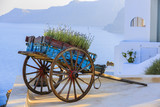 Picturesque view of Old Town of Oia on the island Santorini. - 150485943
