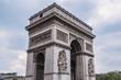 Arc de Triomphe de l'Etoile on de Gaulle Place, Paris, France