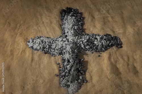 Aschenkreuz im innern Chor des Kapuzinerkloster Wesemlin, Luzern Poster