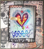 Graffiti,scrapbook and esoteric collage series