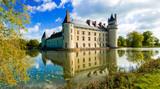 Romantic medieval castles of Loire valley - beautiful Le Plessis Bourre. France - 150661376