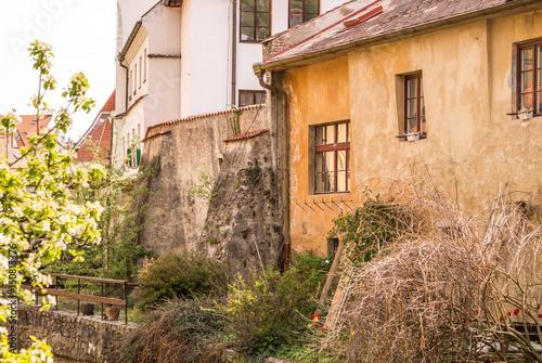 Poster Старинные здания в Чехии. Старая архитектура Центральной Европы