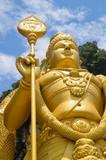 Murugan Statue at the entrance of Batu Caves near Kuala Lumpur, Malaysia