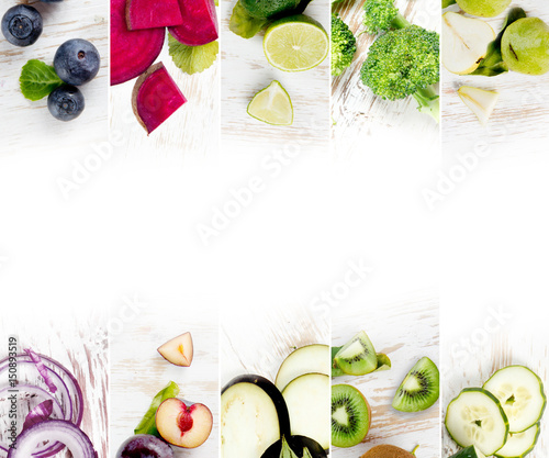Fruit and Vegetable Mix - 150893519