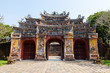 Decorative gate in the Imperial Citadel (Imperial City), Hue, Vietnam