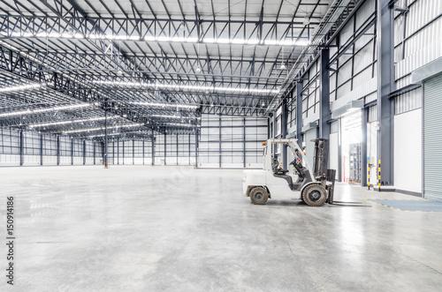 Staande foto Industrial geb. interior of a warehouse