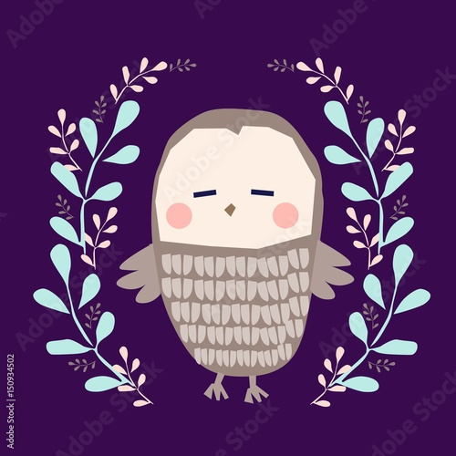 owl illustration - 150934502