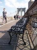 walking over Brooklyn bridge