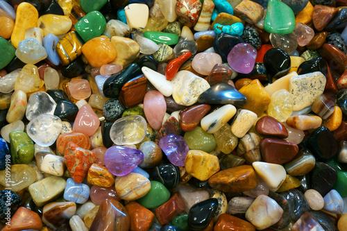 Fototapeta color gems mineral collection
