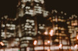 Night cityscape office building. Business blurred background - 151013743