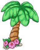 Niedliche Palme Vektor Illustration - 151075582