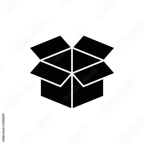 Box Open Symbol Icon Vector Illustration Graphic Design Buy Photos