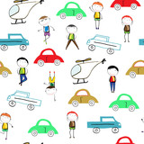 Colorful children's pattern
