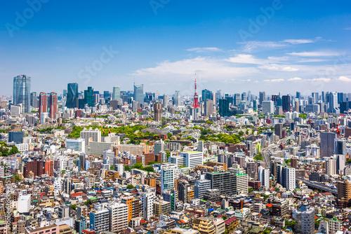 Aluminium Tokio Tokyo Skyline