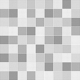Seamless vector pattern - point squares
