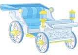 Princess Carriage Wall Sticker