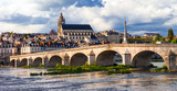 Landmarks of France - Historical Blois town, famous Loire valley - 151244354
