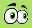 funny cartoon eyes - 151282595