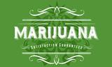 Marijuana Vintage Poster Design