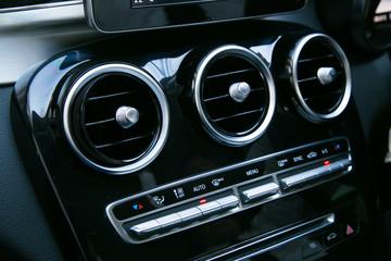 Interior of a modern car, Car Air Conditioner