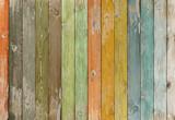 Vintage color wood planks background