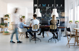 People working in creative environment - 151481103