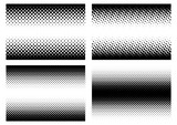 Halftone in different variations in vector_02 - 151496514