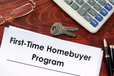 Document with title First time home buyer program. - 151500539