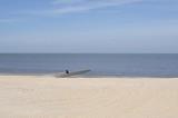 einsam am Strand