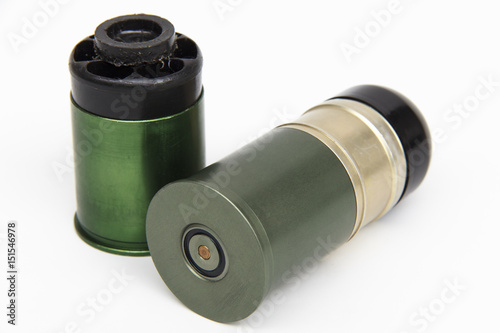 Poster Grenade fired from a grenade launcher,  40 mm.
