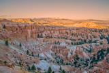 Bryce Canyon Sunset Landscape