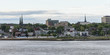 Buildings Bay of Fundy, Saint John New Brunswick, Canada