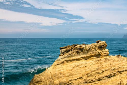 sandstone hillside