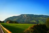green mountain meadow in  in the Switzerland Alps. - 151713176