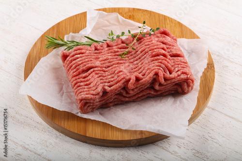 Foto Murales Minced meat
