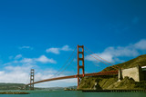 Golden Gate Bridge the iconic landmark of San Francisco