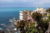 Genoa - Boccadasse borough, colorful old houses - Liguria