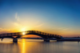 Bridge on the Ionian island of Lefkas