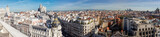 Overview of the roofs of Madrid