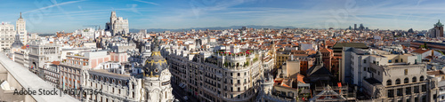 Papiers peints Madrid Overview of the roofs of Madrid