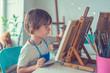 Child in studio