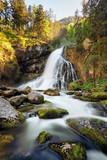 Beautiful Golling waterfall at spring, Austria