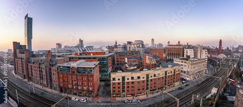 Fototapeta Manchester Skyline England