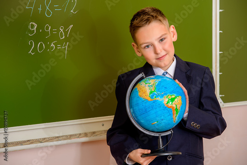 Plakat study at geography