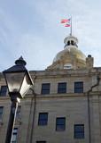 Historical City Hall of Savannah, Georgia