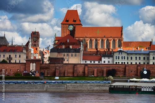Fototapeta Old Town of Torun in Poland