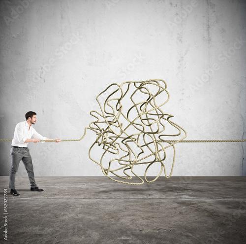 Complicated tangle