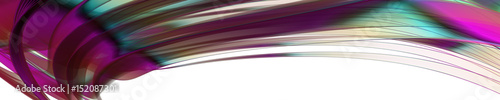 Aluminium Abstractie abstract panorama